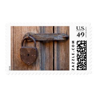 Mexico, San Miguel De Allende. Detail Of A Door Postage Stamp
