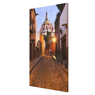 Mexico, San Miguel de Allende. Early morning Gallery Wrap Canvas