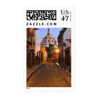 Mexico, San Miguel de Allende. Early morning Postage Stamp