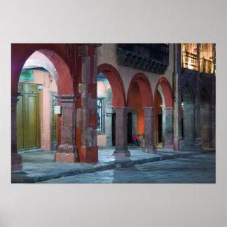 México, San Miguel de Allende, el Jardin, Posters