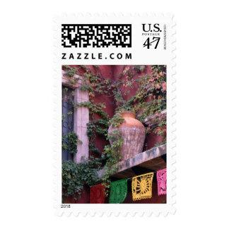 Mexico, San Miguel de Allende, Ivy, clay pot, Stamp