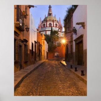México San Miguel de Allende Madrugada Impresiones