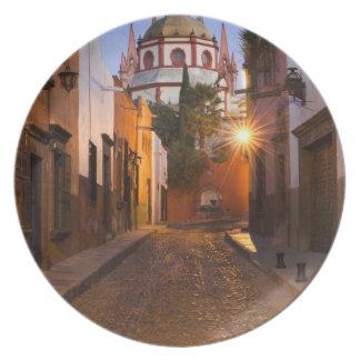 México, San Miguel de Allende. Madrugada Plato De Comida