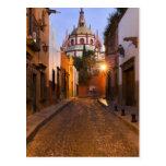 México, San Miguel de Allende. Madrugada Postal