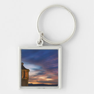 Mexico, San Miguel de Allende. Sunset over Keychain