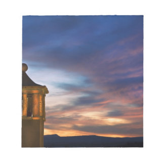 Mexico, San Miguel de Allende. Sunset over Notepad