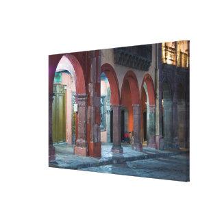 Mexico, San Miguel de Allende, The Jardin, Stretched Canvas Prints