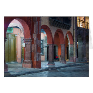 Mexico, San Miguel de Allende, The Jardin, Card