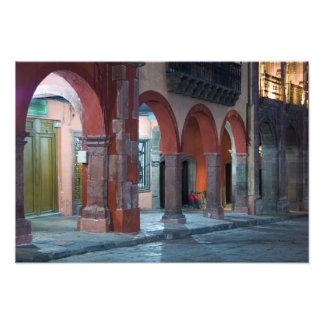 Mexico, San Miguel de Allende, The Jardin, Photo Print