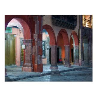 Mexico, San Miguel de Allende, The Jardin, Postcard