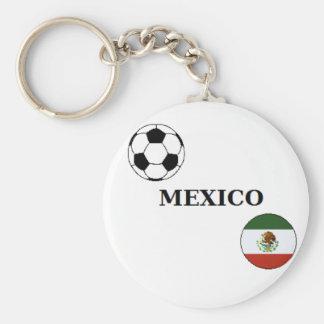 Mexico Scoccer Keychain