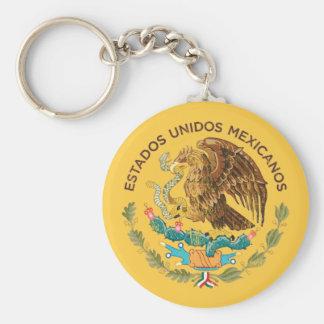 Mexico - Seal of the estados unidos mexicanos Key Chains