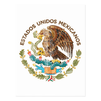 Mexico - Seal of the estados unidos mexicanos Postcard