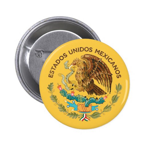 México - sello de los mexicanos de los unidos de l pins