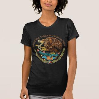 México - sello de los mexicanos de los unidos de l camisetas