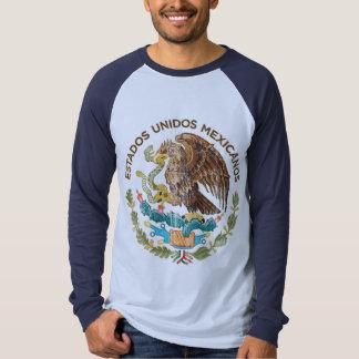México - sello de los mexicanos de los unidos de playera