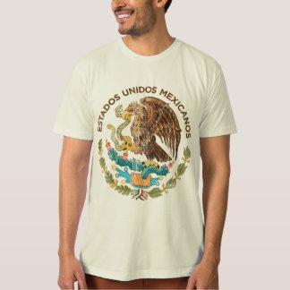 México - sello de los mexicanos de los unidos de playeras