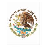 México - sello de los mexicanos de los unidos de postal