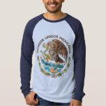 México - sello de los mexicanos de los unidos de remera