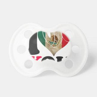 MÉXICO SEÑALA TE AMO PRODUCTOS POR MEDIO DE UNA CHUPETE