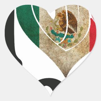 MÉXICO SEÑALA TE AMO   PRODUCTOS POR MEDIO DE UNA COLCOMANIAS CORAZON
