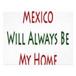 México será siempre mi hogar comunicado personalizado