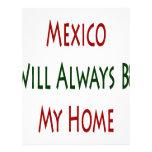 México será siempre mi hogar membrete
