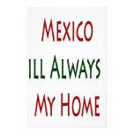 México será siempre mi hogar  papeleria
