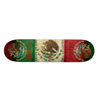 "MEXICO SKATE OR DIE! PATINETA 7 3/8"""