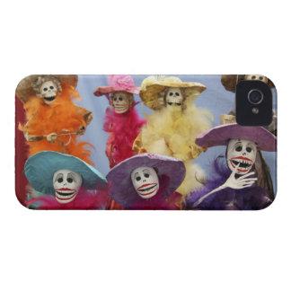 Mexico. Skeletal Catrinas, figures celebrating iPhone 4 Covers