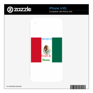 Mexico Skin For The iPhone 4S