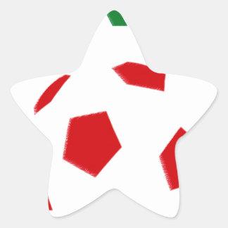 Mexico Soccer 1135 Star Sticker