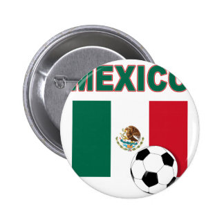 Mexico Soccer 1632 Pinback Buttons