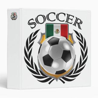 Mexico Soccer 2016 Fan Gear 3 Ring Binder