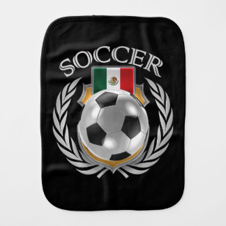 Mexico Soccer 2016 Fan Gear Baby Burp Cloth