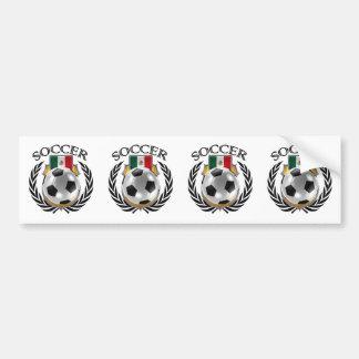 Mexico Soccer 2016 Fan Gear Bumper Sticker