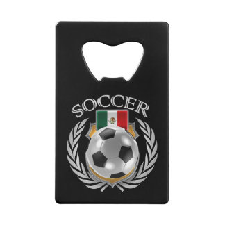 Mexico Soccer 2016 Fan Gear Credit Card Bottle Opener