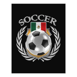 Mexico Soccer 2016 Fan Gear Flyer