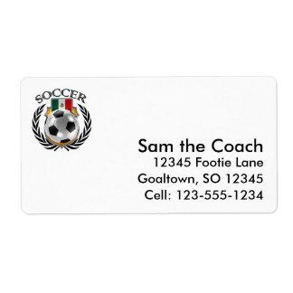 Mexico Soccer 2016 Fan Gear Label