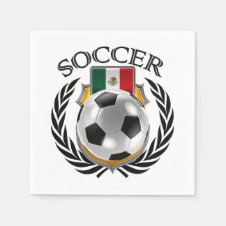 Mexico Soccer 2016 Fan Gear Napkin