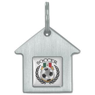 Mexico Soccer 2016 Fan Gear Pet ID Tag