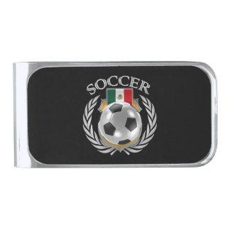 Mexico Soccer 2016 Fan Gear Silver Finish Money Clip