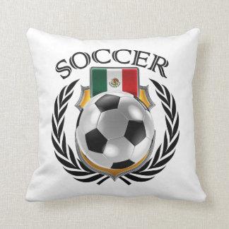 Mexico Soccer 2016 Fan Gear Throw Pillow