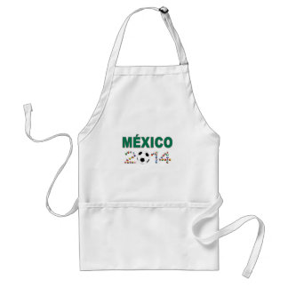 Mexico Soccer 2340 Adult Apron