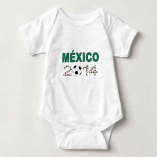 Mexico Soccer 2340 Baby Bodysuit