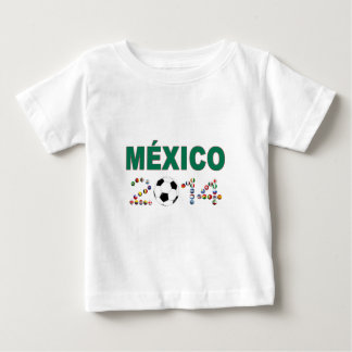 Mexico Soccer 2340 Baby T-Shirt