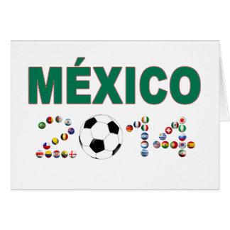 Mexico Soccer 2340 Card