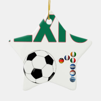 Mexico Soccer 2340 Ceramic Ornament