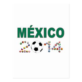 Mexico Soccer 2340 Postcard