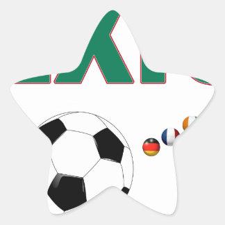 Mexico Soccer 2340 Star Sticker